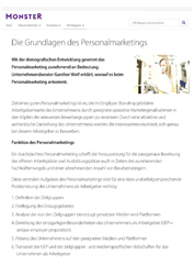 Literatur Personalmarketing
